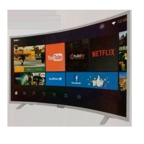 "32"" INCH SMART CURVED TV With Netflix (1year Warranty)"