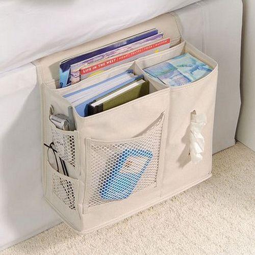 Honana WX-1003 Bedroom Bedside Bag Oxford Cloth StorageBag Sundries Arranged Sofa Bedding Accessory