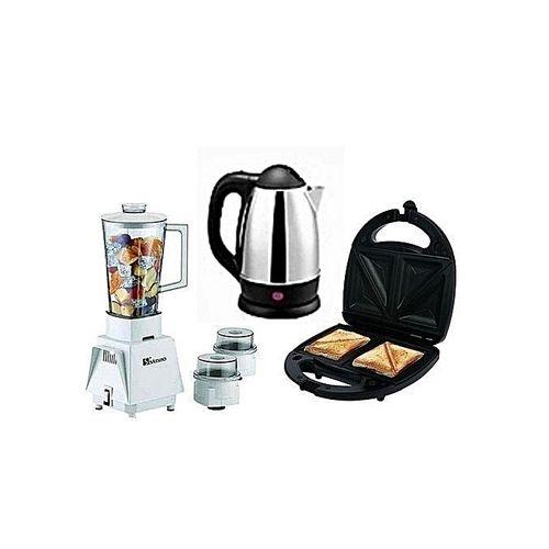 Blender + Electric Kettle + Toaster
