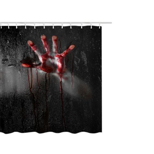 Dtrestocy Fashion Happy Halloween Waterproof Polyester Fabric Shower Curtain 66 X 72inch