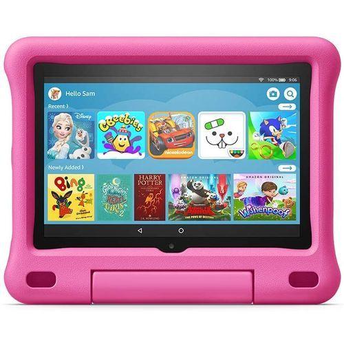 Fire HD 8 Kids Edition Tablet 32 GB (10th Gen) Pink Kid-Proof Case