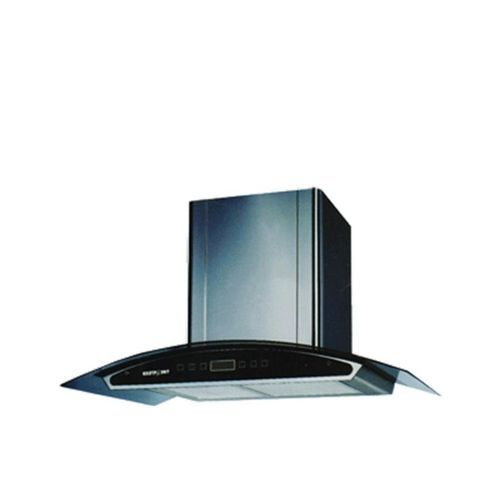 Digital Cooker Hood With Vent + Non Vent Black - 90cm (CHARCOL FILTER) HD60