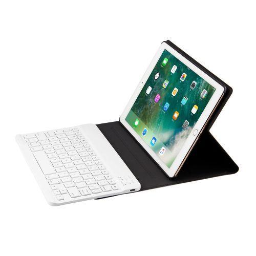 Wireless Bluetooth Keyboard + Leather Case For Apple IPad Air 2 / IPad Pro 9.7