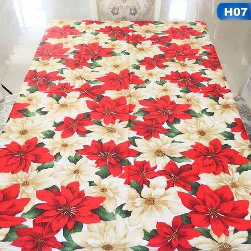 Year Table Cloth Christmas Rectangular Table Cloth Tablecloths House Christmas