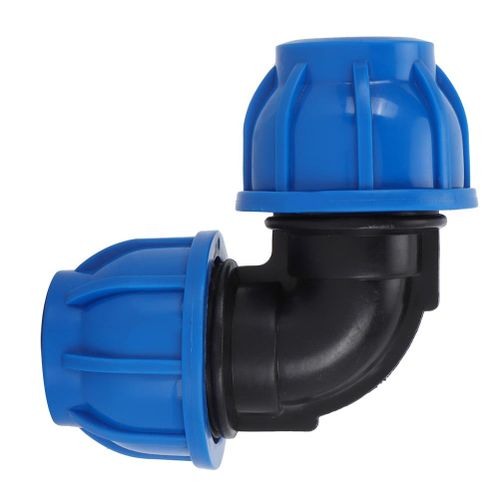 Accessories For Alinory Water Pipe Fittings 4 Pieces Of PE Plastic From 32 Mm To 32 Mm Elbow Adapter Connector