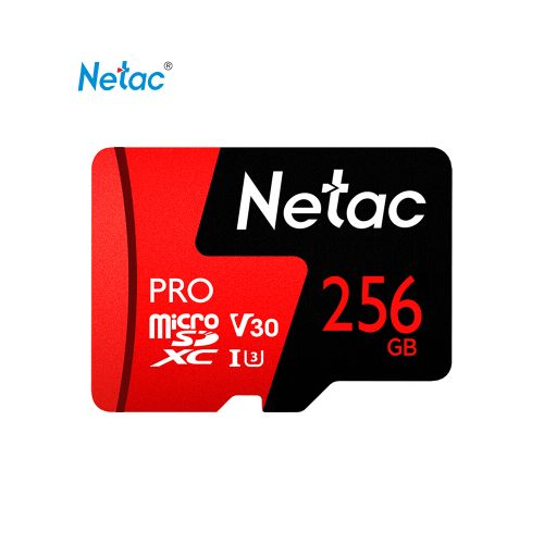Netac 256GB Pro Micro SDXC TF Memory Card Data Storage