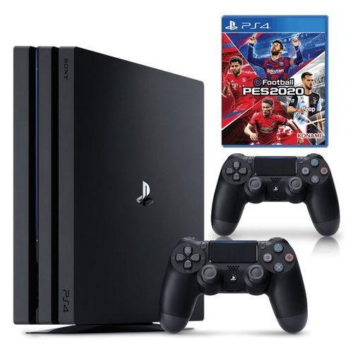 PS4 Pro 1TB 4K Console + PES 20