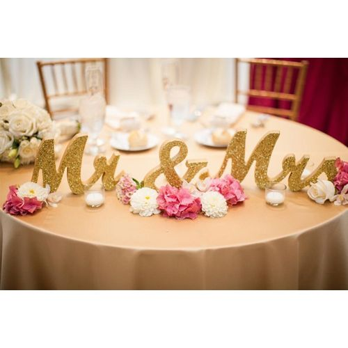 Wooden Mr Mrs Letters Sign For Wedding Table,Photo Props,Party Table,Top Dinner,Rustic Wedding Decorations