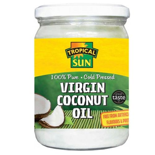 100% Pure. Cold Pressed Virgin Coconut Oil- 480ml