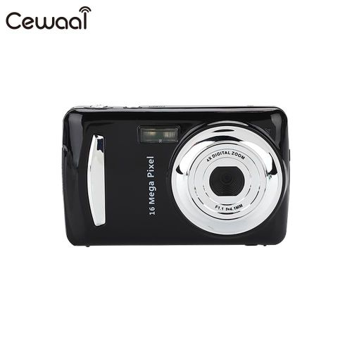 Cewaal Black Ultra Photo Camera 16MP Ultra-clear HD Digital Camera DVR 1080P Mini HD Camera Precise Video Recorder Camera DVR DNSHOP