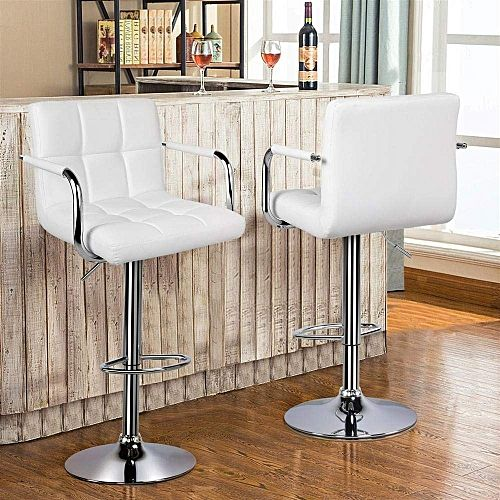 Elegant Bar Stools With Arm And Back Rest
