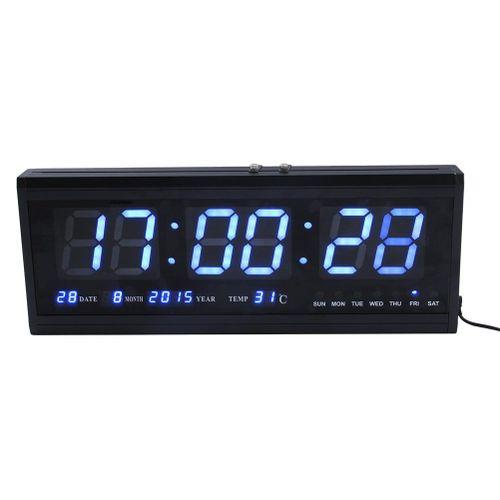 1pcs 48cm Digital LED Wall Clock Big LED Time Calendar Temperature Desk Table Clock Home Decor