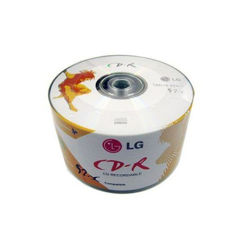 LG PACK OF 50 RECORDABLE DVD- BLANK DISCS ( LG)