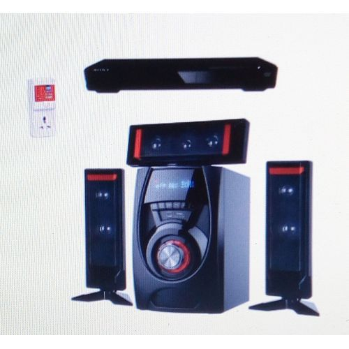 3.1ch Home Theater + LG DVD Player + Power Surge