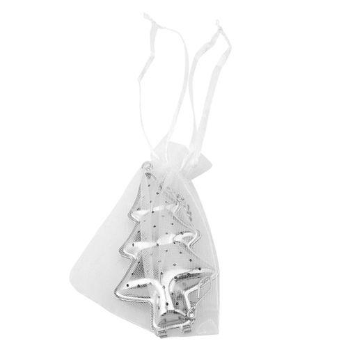 Novelty Christmas Tree Shape Stainless Steel Tea Infuser Strainer Brewing Tool Festival Gift