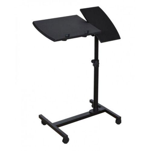 Adjustable Laptop Table - Black