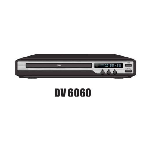 DVD Player DV6060 With USB-Black