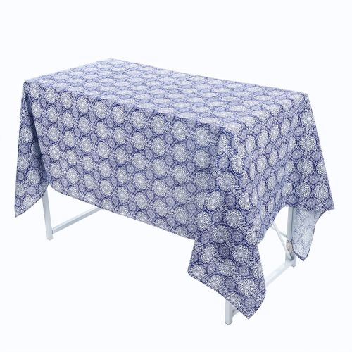 Cotton Linen Table Cover Cloth Wipe Clean Tablecloth Mat Pad