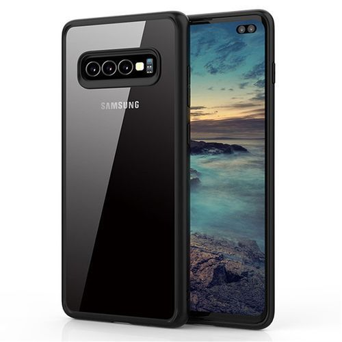 For Samsung S10 Lite Case Luxury Protection Silicon Case Black