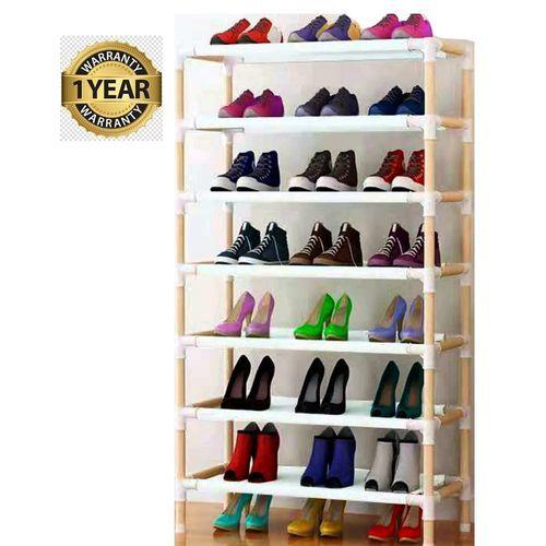 Wooden Shoe Rack 7Steps (24 Pairs Shoe )