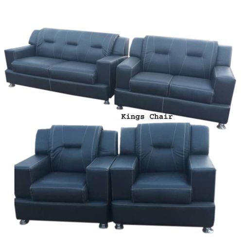 7 Seaters Leather Sofa Set + Free OTTOMAN (LAGOS DELIVERY)
