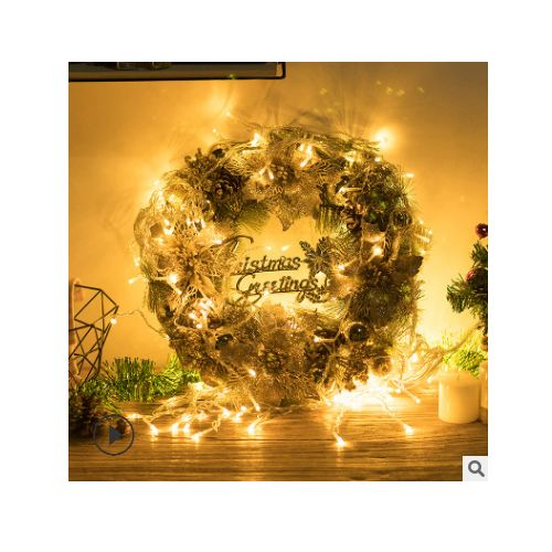 LARGE LUXURY LED PRE LIT DECORATED CHRISTMAS DECOR DOOR