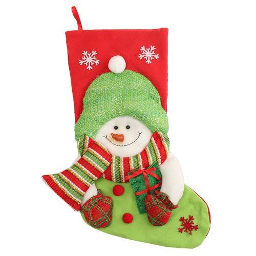 20'' Christmas Stocking Mini Sock Santa Claus Candy Gift Bag X'mas Tree Hanging