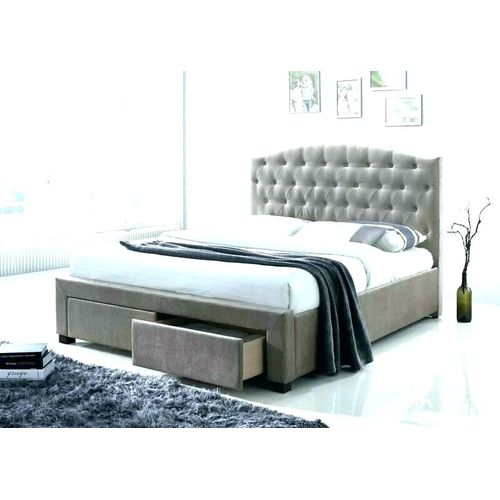 Calasto 6by6 Bed+drawers+free Pillows-Free Lagos Delivery