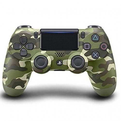 Wireless PS4 Game Pad Controller Army Green Camouflage