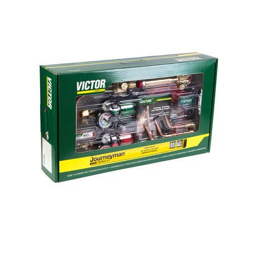 Victor Journeyman Torch Kit Set W/ Regulators 0384-2101
