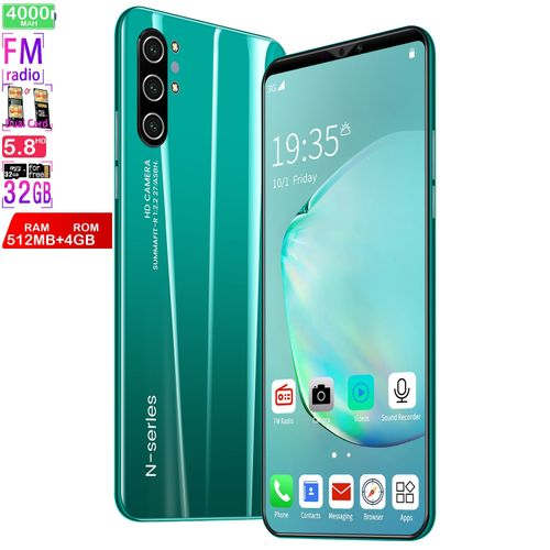 512MB+4GB Android SmartphoneExplosive Cross-border E-commerce 5.8-inch Screen Note10 3g ProfitProduct