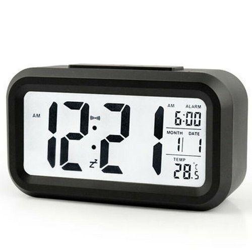 Mute Smart Light LED Big Screen Digital Alarm Clock