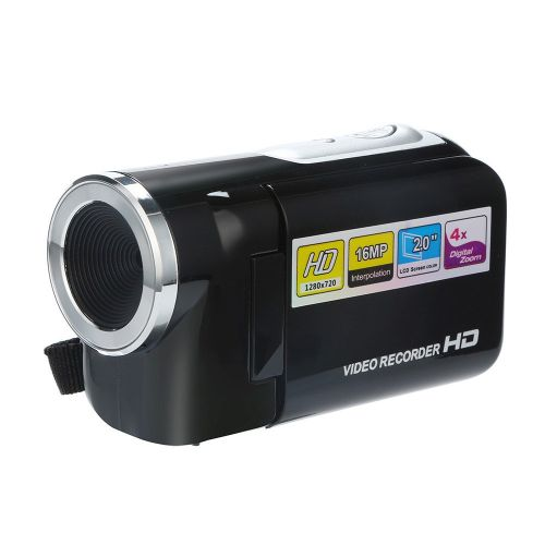 CARPRIE Video Camcorder HD 1080P Handheld Digital Camera 4X Digital Zoom Maximum 16 Megapixel Digital Cameras Drop.1.10 Co. RELAXING