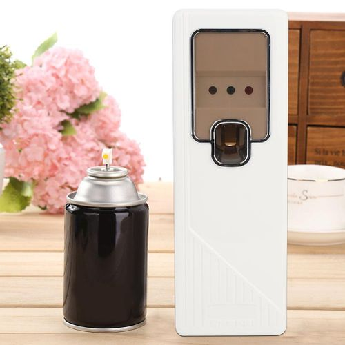 Air Freshener Dispenser In Simple Style, Electric Automatic Spray Free Pump Aroma Air Freshener Diffuser Wall Mounted Spray Kit Perfume Aerosol Dispenser For Home And Office