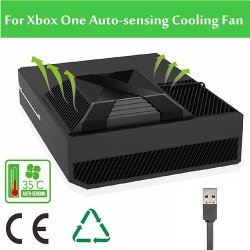 Details About For Xbox One Intercooler Device Temperature Down USB Cooler Clip On Cooling Fan