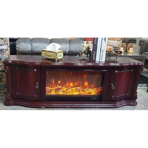 Royal Tv Stand With Drawers And Fire Flames(Prepaid Only)