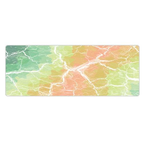 Extra Large Mouse Pad Gaming Mousepad Anti-slip Marbled Road Pattern Mat Multicolor