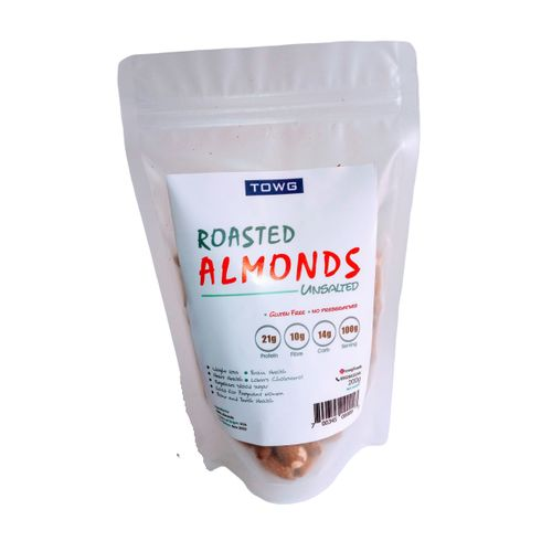 Roasted Almond (Unsalted) - 200g