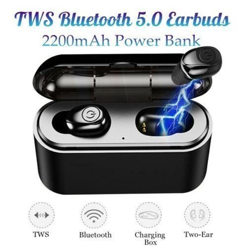 X8S Bluetooth 5.0 Headset Earphones Mini Bass Stereo 3000mAh