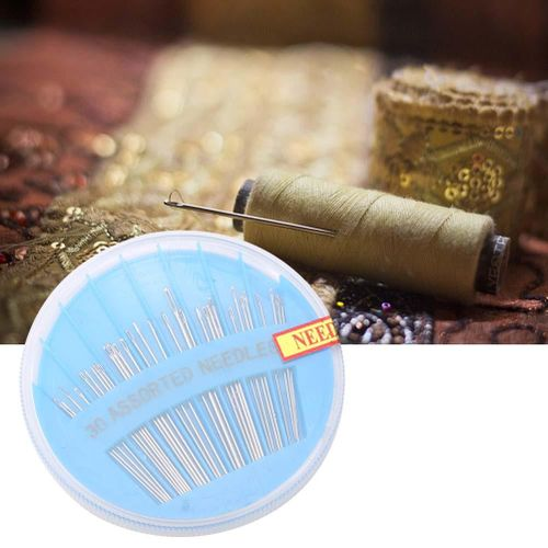30pcs Portable Hand Sewing Needles Mending Craft Sewing Tools Accessory