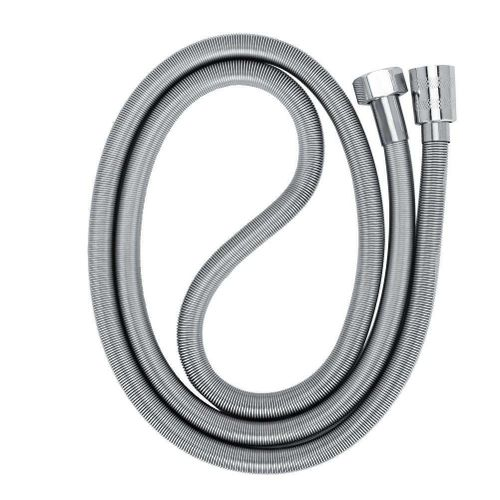 G1/2in Bathroom Flexible Stainless Steel Shower Head Accessory Thickened Spring Shower Hose