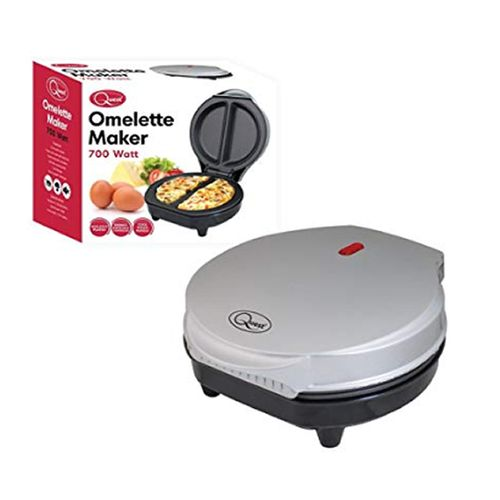 Non-Stick Cool Touch Dual Omelet Maker, 700 W