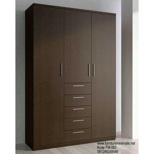 3-Door 6-Drawer Wardrobe - 6ft (Lagos Orders Only)