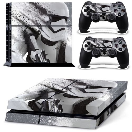Skin Sticker For PS4 PlayStation 4 Console + 2 Controller Protector Skin