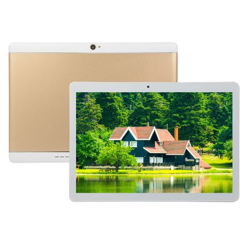 Tablet PC 10.1-inch HD (6GB,64GB ROM) Android 8.0 13MP+8MP Tablet-Gold