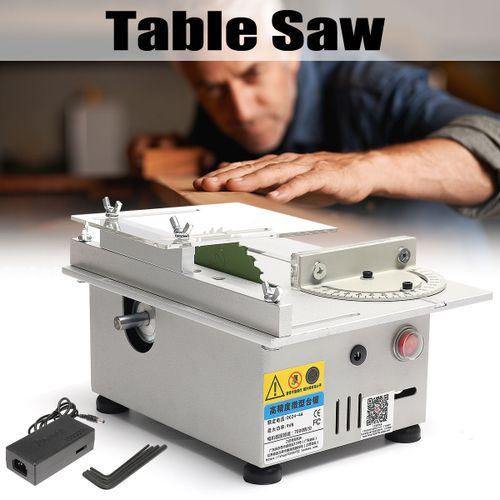 Mini Table Saw Multifunctional DIY Woodworking Bench Saw Blade Cutting Machine