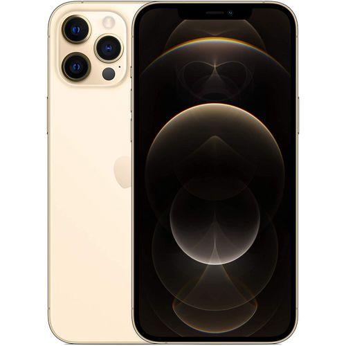 IPhone 12 Pro Max - 512GB + 6GB RAM, 6.7-Inch,(12MP+12MP+12MP)-5G-Gold