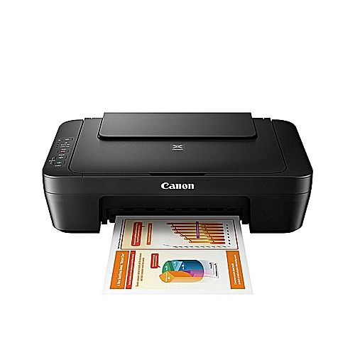 Pixma MG2540S Inkjet Photo Multipurpose AIO Printer - Black