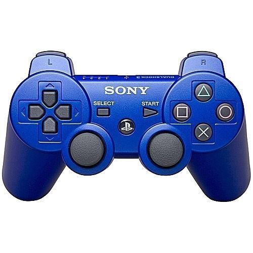 Sony PS3 Wireless Pad Dual Shock Wireless Game Controller - BLUE ( OFFICIAL PS3 PAD)
