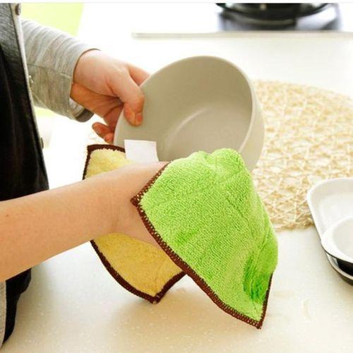 Mixed Color Microfiber Car Cleaning Towel Kitchen Washing Polishing Cloth